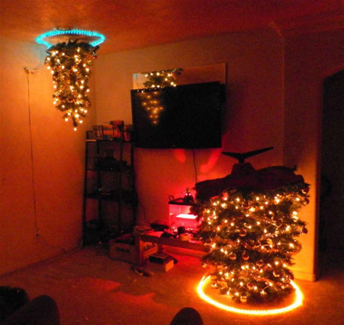 Portal de árbol de navidad