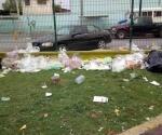 Deja Pascua por lo menos 25 toneladas de basura en parques de Nuevo Laredo