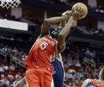Rockets se mantiene imparable, supera a Washington