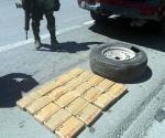 Aseguran 4 toneladas de droga en Camargo