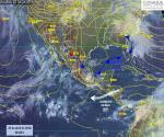 Frente frío 46 traerá tormentas fuertes, actividad eléctrica y posibles granizadas