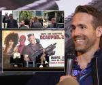 (VIDEO) Disfruta Ryan Reynolds visita a México; se da tiempo de viajar en Micro