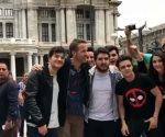 ¡Ryan Reynolds en microbús por la Ciudad de México!