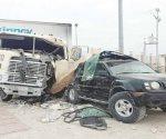 Carambola es causada por un tráiler en Nuevo Laredo