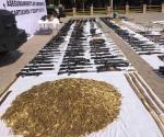 Nuevo Laredo: Sube a 220 armas el golpe al crimen en operativos de la Sedena