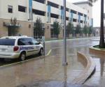 Lluvias convierten en peligro las calles