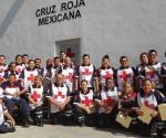 Concluye Cruz Roja el curso Serie 3000