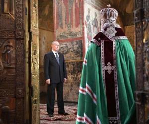 Vladimir Putin: Posesión del cuarto mandato