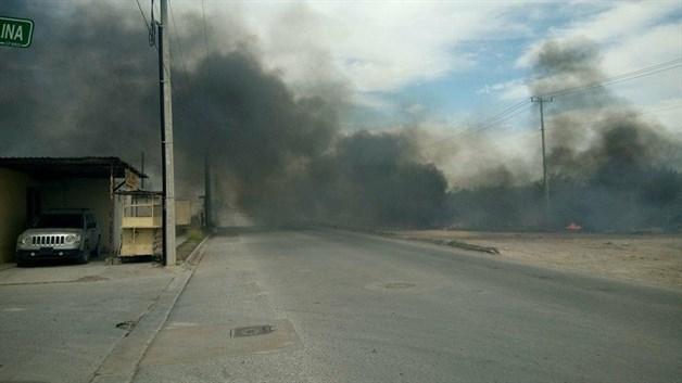 Surge nuevo pirómano en Río Bravo; realiza 4 quemas