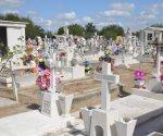 Censarán tumbas en Día de la Madre. Instalan módulos en los panteones