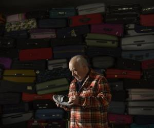 Historia de las maletas de Cristóbal Toral
