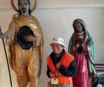 Abuelita peregrina de 94 años camina rumbo a la Basílica