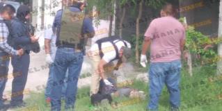 Hallan muerto con narcomensaje en Las Delicias, en Reynosa