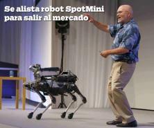 Robot SpotMini se alista para salir al mercado