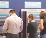 Falla en cajeros y red de pagos