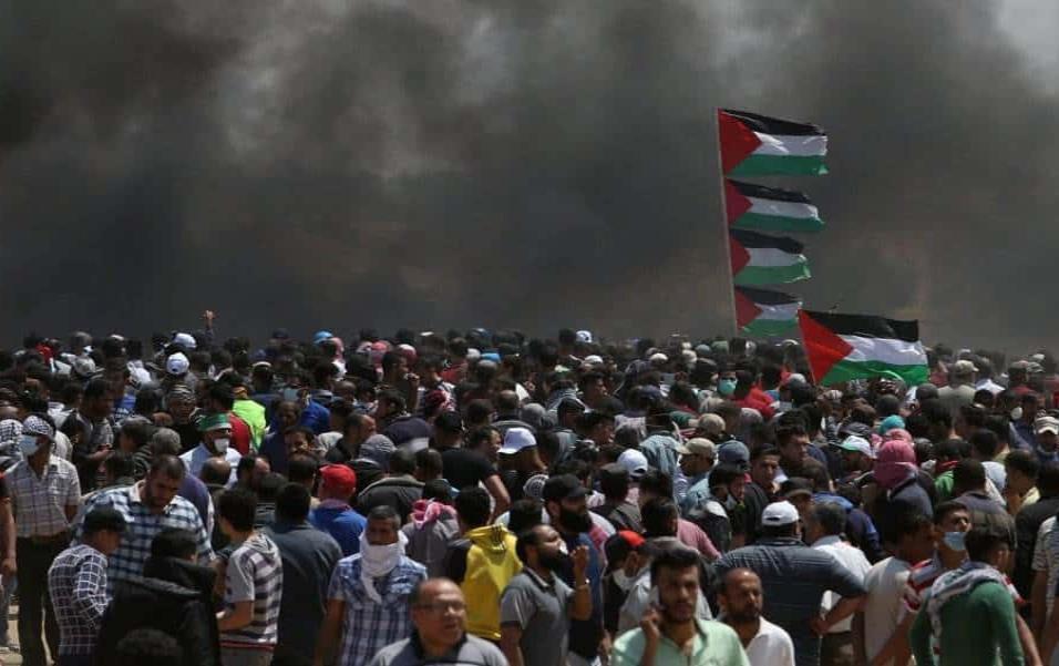 El balance de muertos ha generado críticas a nivel internacional, pero Estados Unidos, que ha provocado las iras de los países árabes con el traslado de su Embajada a Jerusalén. IBRAHEEM ABU MUSTAFA REUTERS