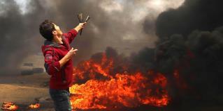 Inconformidad, a dejado varios muertos y centenares de heridos, en Gaza