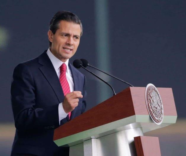 Peña Nieto reporta saldo blanco tras sismo de 5.2 grados