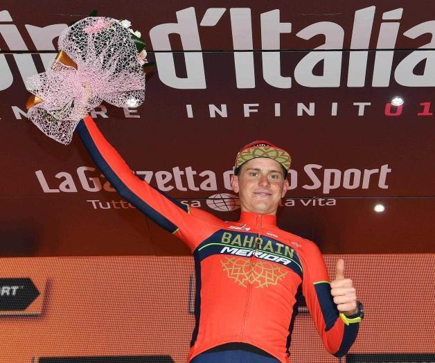 Gana esloveno Mohoric etapa 10 del Giro de Italia