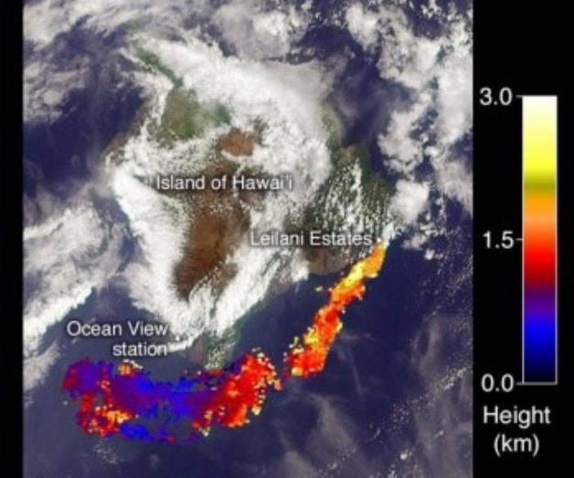 Hawái en alerta  por erupción volcánica