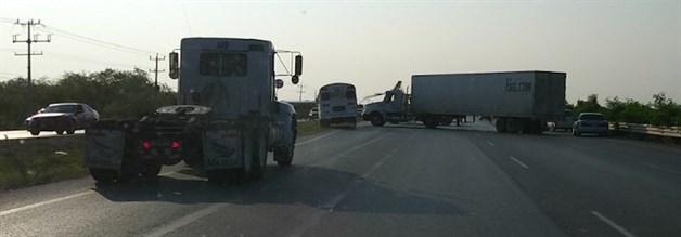 Tiroteos culminan con bloqueo a carretera Reynosa-Río Bravo