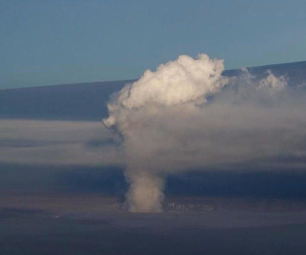 Hace erupción el volcán Kilauea en Hawái