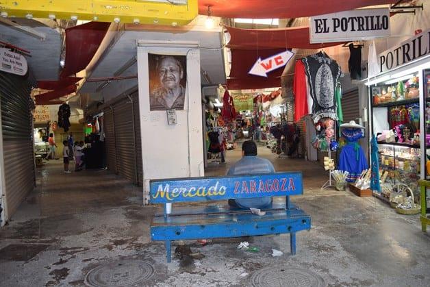 Entra en crisis el Mercado Zaragoza