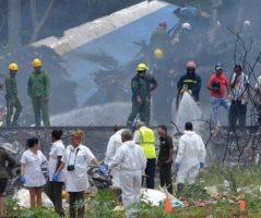 Aeronave se desploma al despegar de La Habana