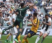 El último partido de Buffon en la Juventus