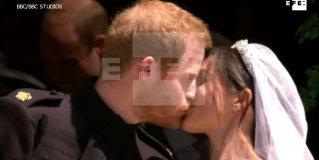 El príncipe Enrique y Meghan Markle se dan el sí, quiero