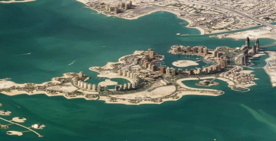 Doha (Catar)La Perla de Catar es una isla artificial inmensa. Está en Doha, capital del país. Como explica EL PAÍS Semanal, es el paradigma del lujo y la moda en la ciudad, donde se encuentran los comercios y restaurantes más internacionales. Foto tomad