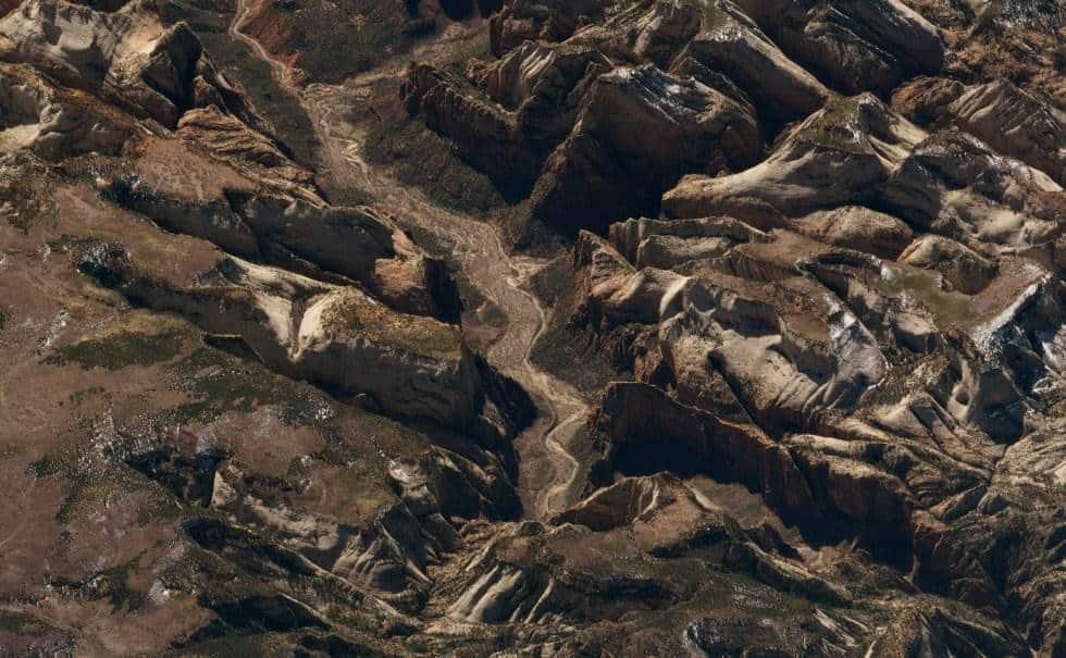 Parque Nacional Zion (Estados Unidos)En la imagen se ve el cañón Zion, de hasta 800 metros de profundida y 24 kilómetros de longitud. Es una zona de arenisca roja en el estado de Utah. Foto tomada el 21 de marzo de 2018.