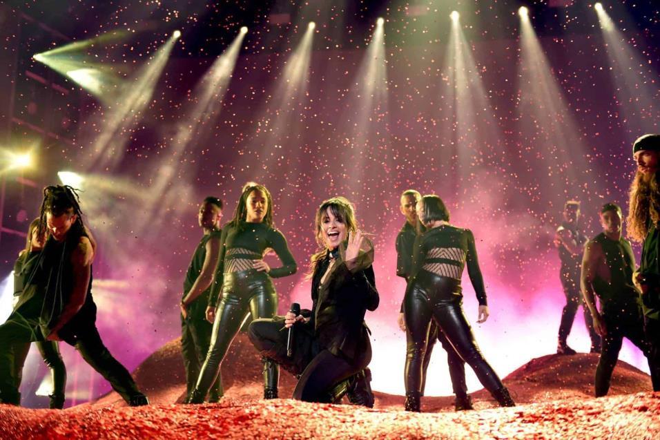 La artsta Camila Cabello durante su actuación en los Billboard celebrado en Las Vegas, Nevada. JOHN SHEARER WIREIMAGE