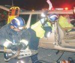 Cuatro heridos tras choque en Nuevo Laredo
