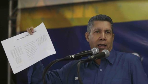 Desconoce opositor la elección en Venezuela