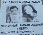 DÍAZ ORDAZ | Sustrae tía a bebé de siete meses; piden ayuda para encontrarlo