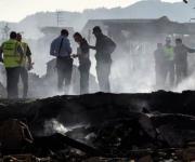 Explosión en un almacén de pirotecnia en Tui, en imágenes