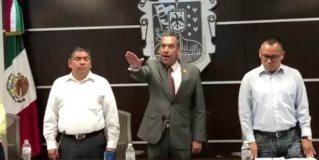 Rinde protesta como alcalde interino en sesión de cabildo