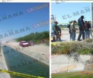 Caen a canal y mueren dos civiles armados tras enfrentamiento con estatales