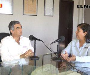 El candidato a senador por MORENA Américo Villarreal en EL MAÑANA