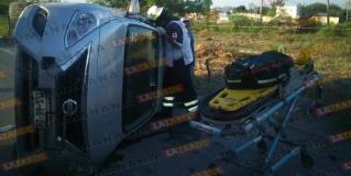 Reynosa: la vuelca y manda al hospital