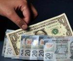 Cede peso 35 centavos ante el dólar en una semana; cierra en 20.20
