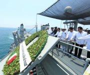 Así se vivió la visita de EPN y el Gobernador por el Día de la Marina en Tampico