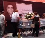 Rinden homenaje a priista asesinado