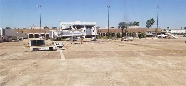 Controlan fuga de gas en aeropuerto. Toman autoridades acciones inmediatas