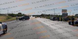 REYNOSA: Arroja tres lesionados tremendo choque en carretera a Monterrey