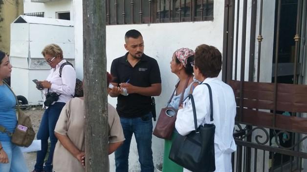TAMPICO: ´Conviven´ familiares con el cuerpo de mujer, fallecida desde el sábado