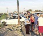 Un menor lesionado tras choque en Nuevo Laredo