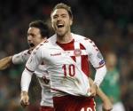 Christian Eriksen causa baja con Dinamarca previo a amistoso con México