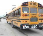 Obsoleto camión escolar
